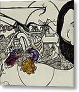 Ever Lasting Youth Aka The Organ Eater Metal Print by Nickolas Kossup