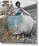 Ever Seen An Alice With A Blossom Like That Metal Print