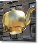 Ever Steaming Kettle Metal Print