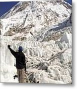 Everest Base Camp Metal Print