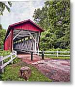 Everett  Bridge Metal Print