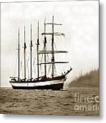 Everett G. Griggs Sailing Ship Washington State 1905 Metal Print