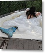 Everglades City Florida Mermaid 071 Metal Print