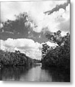 Everglades Dock Metal Print