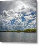 Everglades Lake 6919 Metal Print by Rudy Umans