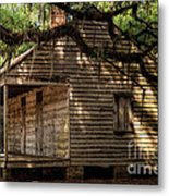 Evergreen Plantation Slave Quarters Metal Print