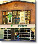 Evergreen Yonge St  Scenes Building A Better Toronto One Person At A Time Community Center Cspandau Metal Print
