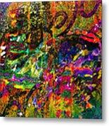 Evermore Graffiti Metal Print
