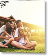 Every moment spent together is absolute bliss Metal Print