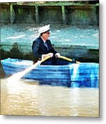 Everyone Is The Captain Of Their Own Boat Metal Print