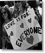 Everyone Metal Print