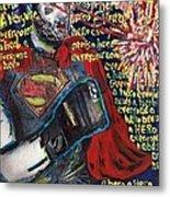 A Hero Metal Print