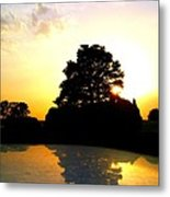 Everything Is A Mirror Metal Print