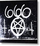 Evil Metal Print by Margie Hurwich