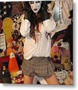 Evil Schoolgirl 217 Metal Print