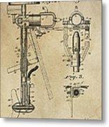 Evinrude Outboard Marine Engine Patent  1910 Metal Print