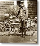 Excalibur Motorcycle California Circa 1915 Metal Print