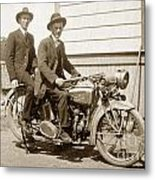 Excalibur Motorcycle Circa 1920 Metal Print