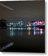 Excel London  Metal Print