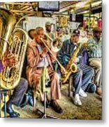 Excelsior Band 5 Piece Metal Print