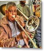 Excelsior Band Horn Player Metal Print