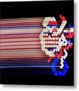 Excitebrite Acceleration Metal Print