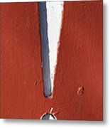 Exclamation Point Metal Print