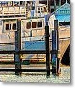 Excursion Boat Metal Print