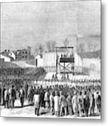 Execution Of Henry Wirzhenry Wirz Metal Print