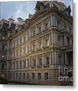Executive Office Building Metal Print