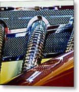 Exhaust Metal Print