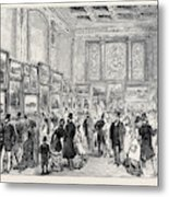 Exhibition Of The City Of London Society Of Artists Metal Print