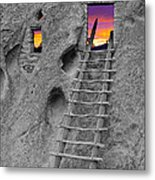 Exist Strategy Metal Print