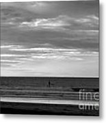 Existential Contemplation Metal Print