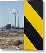 Exit 280 Cholla Power Plant Metal Print