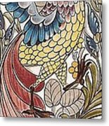 Exotic Bird Metal Print