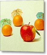 Exotic Fruit Metal Print