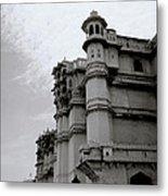 Exotic Udaipur Metal Print
