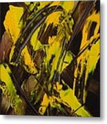 Expectations Yellow Metal Print