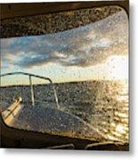 Expedition Boat In Repulse Bay Metal Print