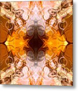 Exploding Ideas Abstract Pattern Artwork By Omaste Witkowski Metal Print