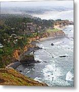 Exploring The Oregon Coast Metal Print