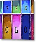 Express Color Metal Print