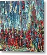 Expressionist Cat Oil Painting.1 Metal Print