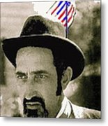 Extra With Flag In Hat The Great White Hope Set Globe Arizona 1969-2008 Metal Print