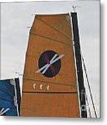 Extreme 40 Sail Detail Metal Print