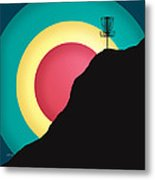 Extreme Disc Golf Metal Print