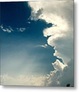 Extreme Weather On Its Way Metal Print