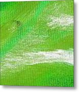Exuberant Emerald Green Metal Print