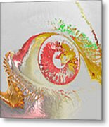 Eye 2 Metal Print by Soumya Bouchachi